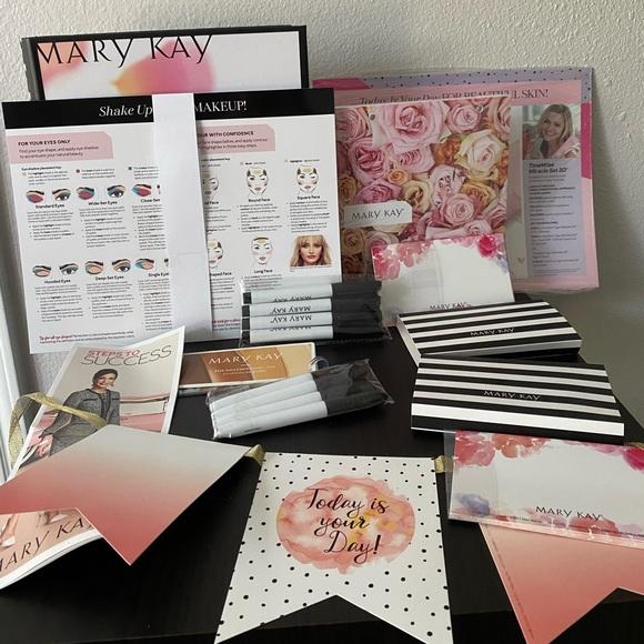 Mary Kay kit supplies, facial party kit